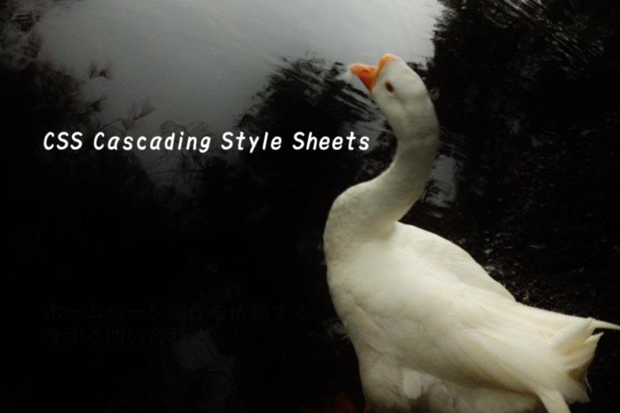 ホームページ制作 CSS Cascading Style Sheets