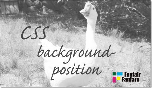 ホームページ制作 css background-position