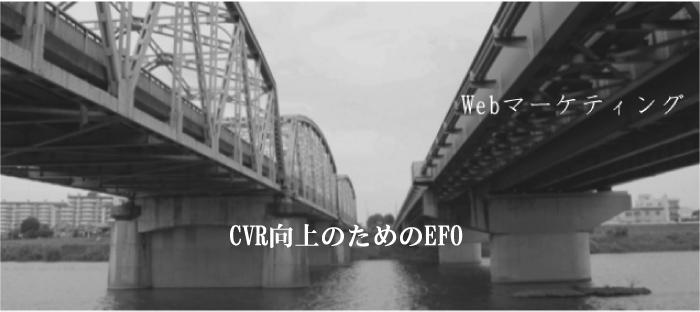 CVR向上のためのEFO