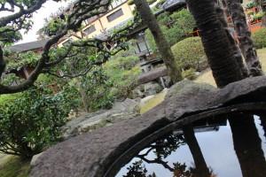 旅館静観荘 日本庭園2