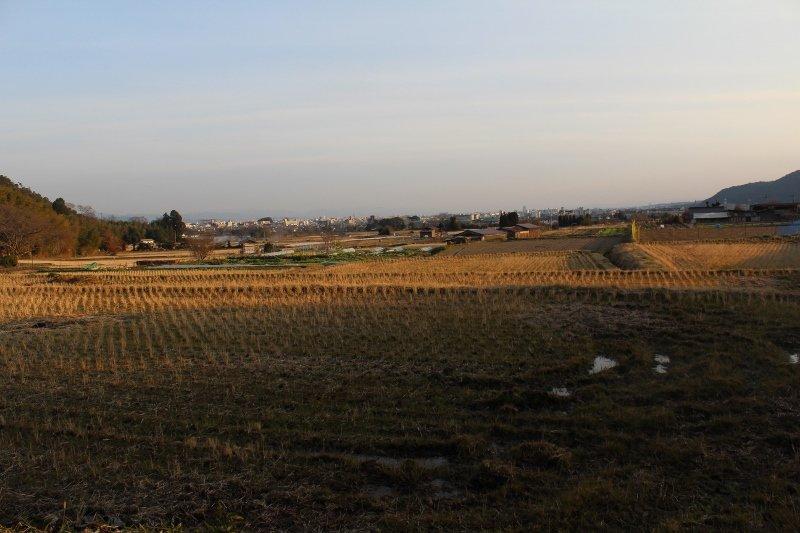北嵯峨の風致地区 田園風景