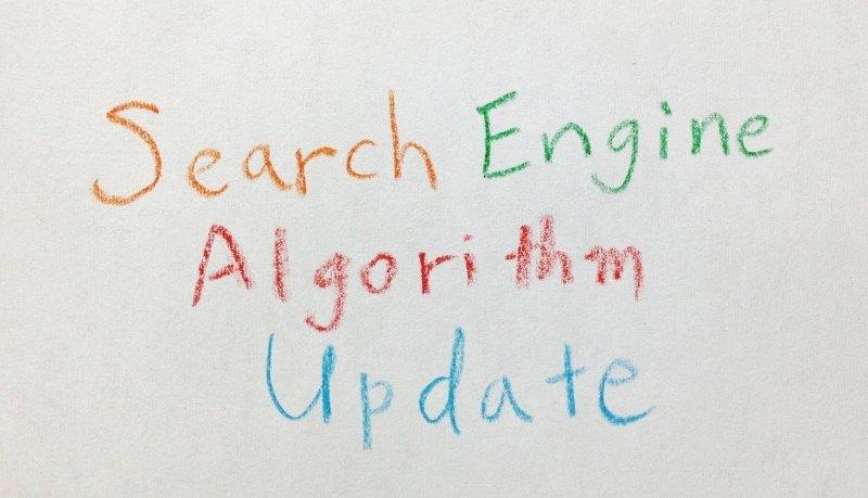 Google検索アルゴリズムアップデート