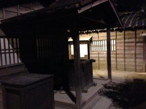東映太秦映画村の井戸