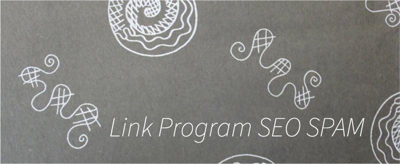 リンクプログラムやペイドリンク SEOスパム SEO外部対策要因