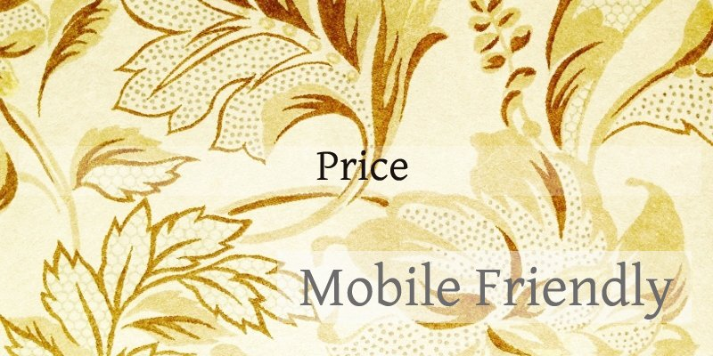 モバイルフレンドリー価格・料金 大幅に価格が変動するケース  ホームページのモバイルフレンドリー化サービス