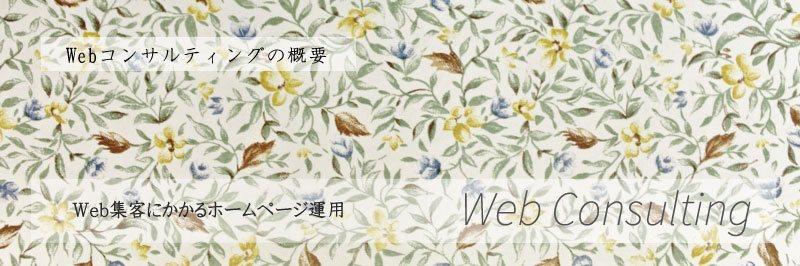 Webコンサルティング Web集客 ホームページ運用