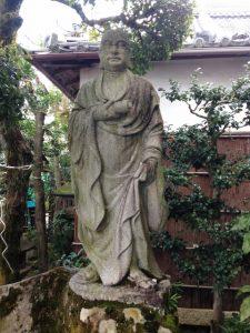 達磨大師像 法輪寺