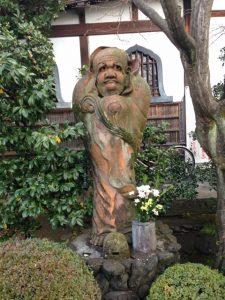 達磨大師像 だるま寺