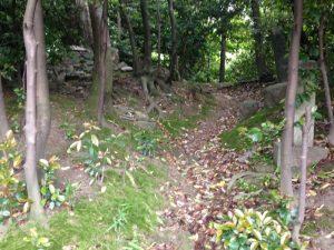 天塚古墳の道