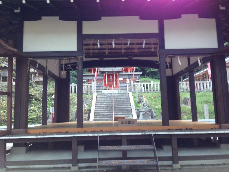 山科神社に到着