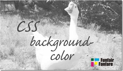 ホームページ制作 css background-color