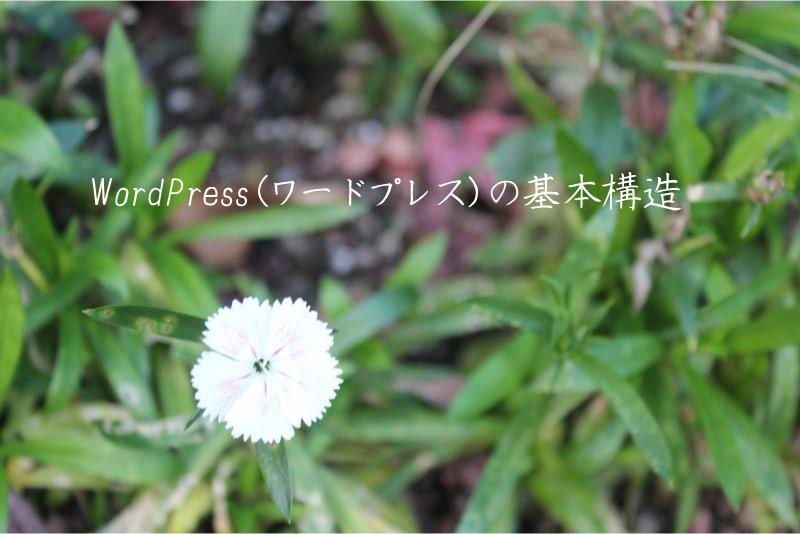 WordPress(ワードプレス)の基本構造 ホームページ制作