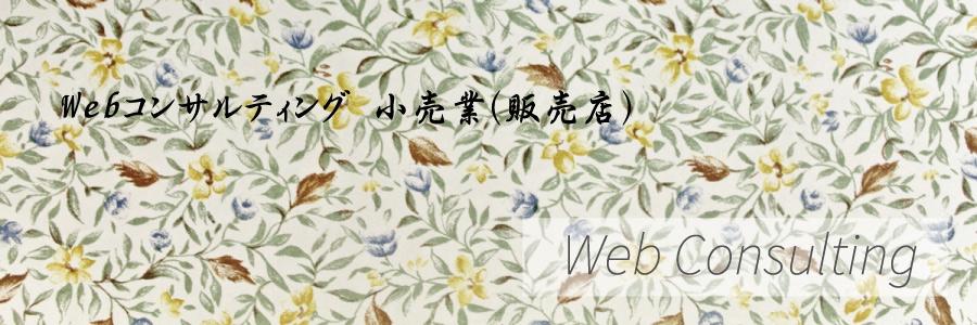 Webコンサルティング 小売業(販売店)