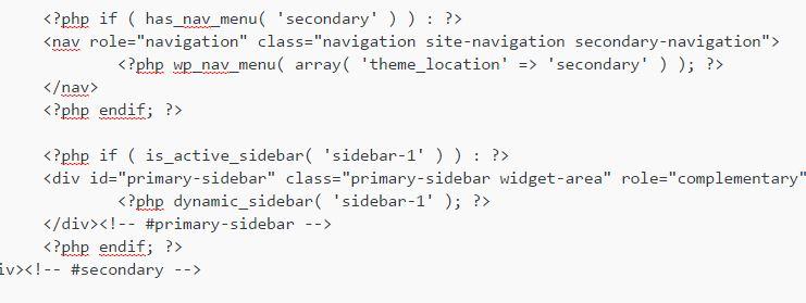 WordPressテーマのsidebar.phpを編集する