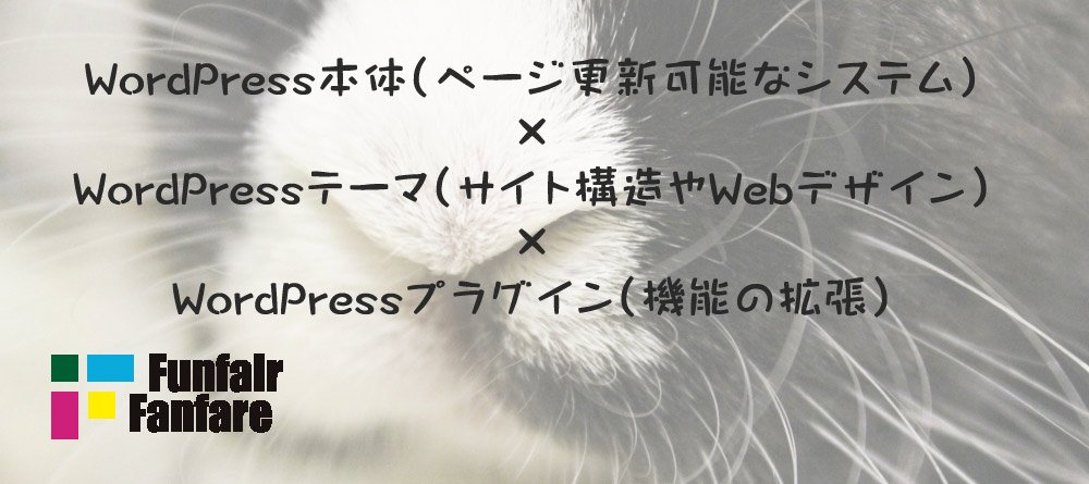 WordPressの構造 本体・テーマ・プラグイン