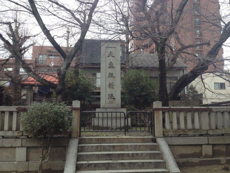 京都の大極殿跡