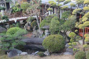 静観荘の日本庭園 奈良県奈良市2