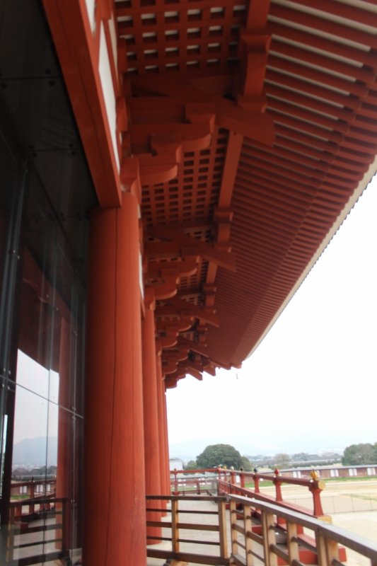 奈良市 第一次大極殿の中