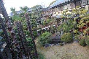 静観荘の日本庭園 奈良県奈良市