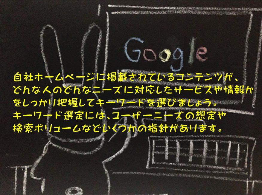検索ユーザーの検索意図とSEOキーワード選定