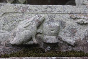 こんなところにもうさぎ2 岡崎神社 京都市左京区