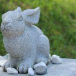 ウサギ像 白兎神社