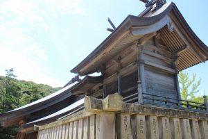白兎神社裏側