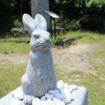ウサギ像3 白兎神社