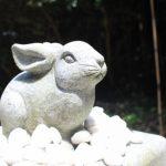 ウサギ像5 白兎神社