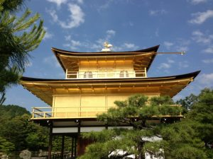 金閣寺金の舎利殿 京都市北区