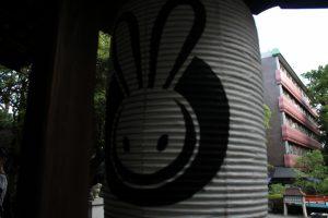 うさぎのちょうちん2 岡崎神社 京都市左京区
