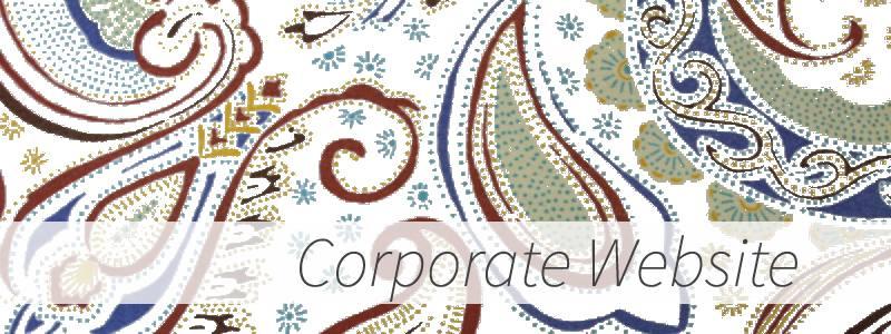 コーポレートサイト Corporate website