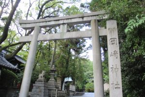 岡崎神社鳥居 京都市左京区