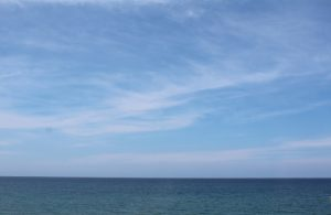 美しい水平線