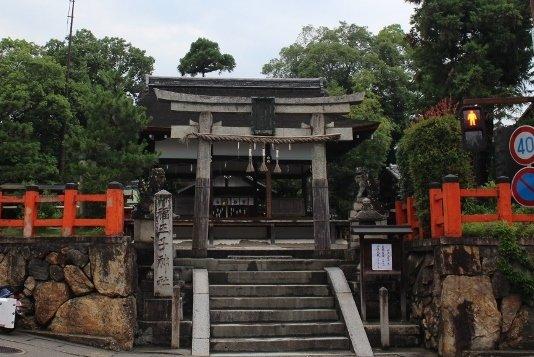福王子神社全体 京都市右京区