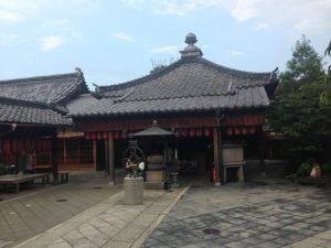 石像寺境内 お堂