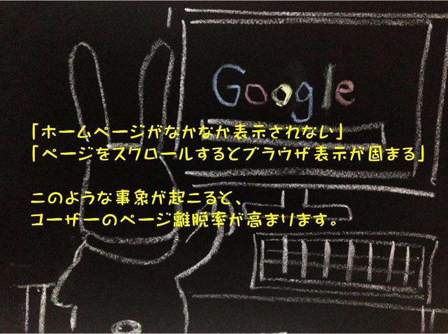 ページの高速表示化でユーザーのホームページ閲覧性向上 SEO内部対策