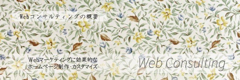 Webコンサルティング Webマーケティング 効果的 ホームページ制作 カスタマイズ