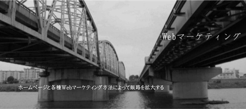 ホームページと各種Webマーケティング方法によって販路を拡大する