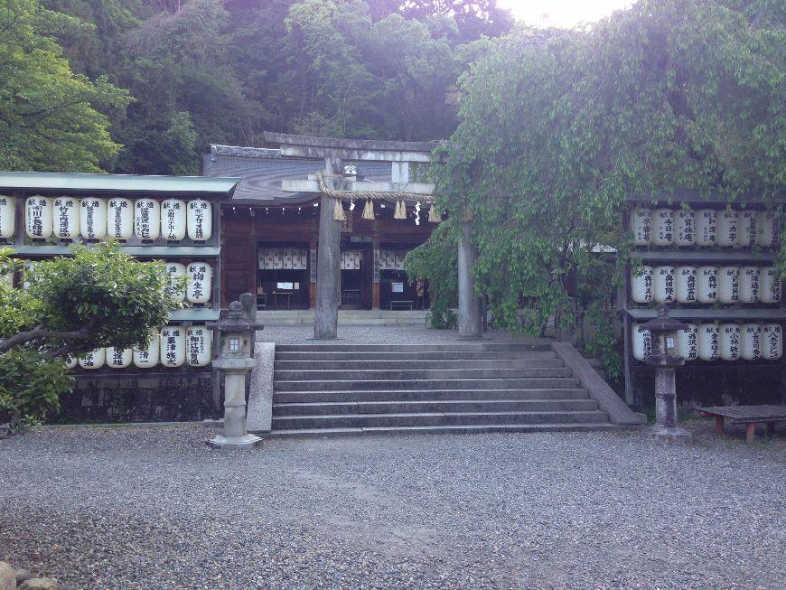 大石神社境内2 京都市山科区