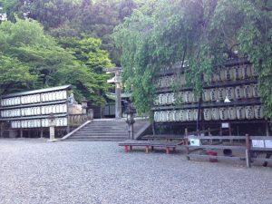 大石神社境内 京都市山科区