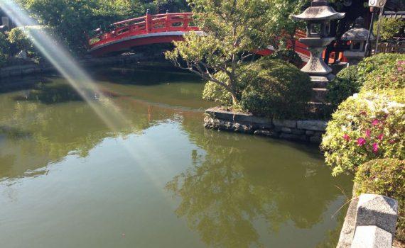 神泉苑へ 京都市中京区