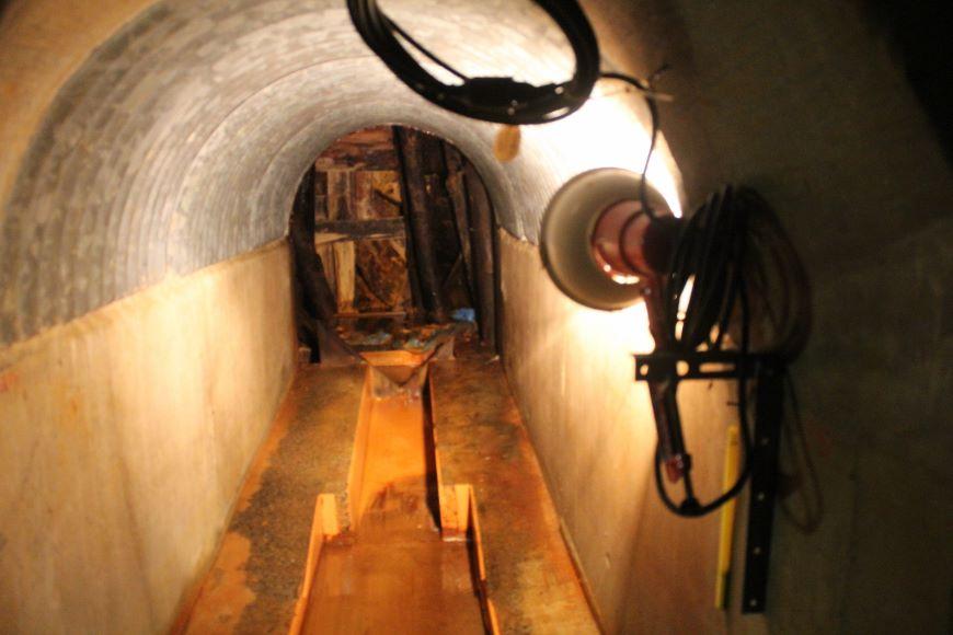コンクリートの坑内から洞窟へ 旧岩美鉱山