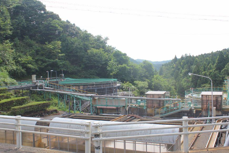 旧岩美鉱山坑廃水処理事業