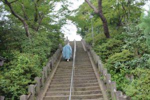少林山達磨寺 登り階段2