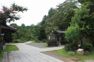 達磨寺(群馬県)境内