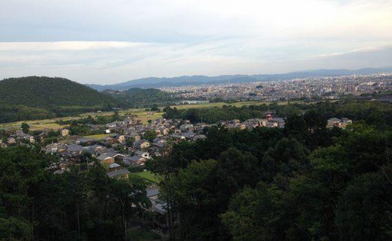 嵯峨天皇 嵯峨山上陵へ 京都市右京区